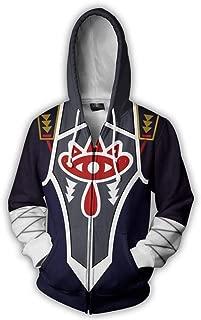 The Legend of Zelda:Hoodie Sweatshirt Cosplay Costume Zip up Coat Unisex 5 Color