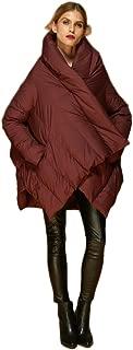 Women's Puffer Down Coat Cloak-Type Jacket