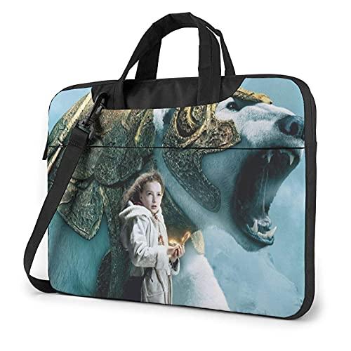 XCNGG Golden Compass Laptop Bag Tablet Valigetta portatile Custodia protettiva Cover Borse a tracolla 13 pollici
