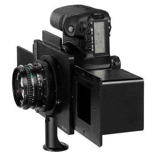 Fotodiox Vizelex Rhin cámara llevar Pro Shift adaptador de formato medio/objetivo Hasselblad V para Nikon (FX, DX) cámara réflex digital–Vizelex Rhin ocam formato medio Shift adaptador–objetivo Hasselblad V para Nikon (FX, DX) adaptador de montura de cámara réflex digital