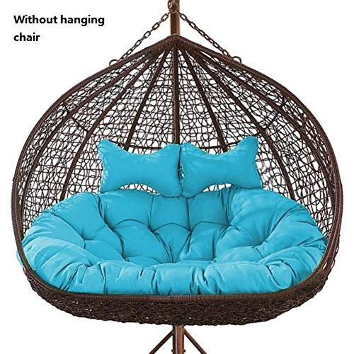 Leiyini Egg Nest Chair Pad, 2 Persons Seater...