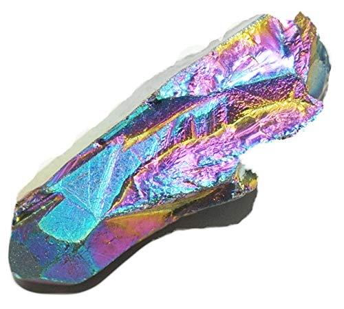 I8-9/13-35 MM - Pincel de cristal de roca con superficie iluminada