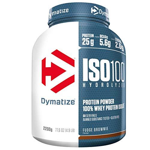 Dymatize ISO 100 Fudge Brownie 2.2 kg - Whey Protein Hydrolysat + Isolat Powder