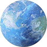 Seninhi Mouse pad Planet Star Universe Individual Fashionable Flexible Tiny Popularity Space Star Round Star Series (Earth)