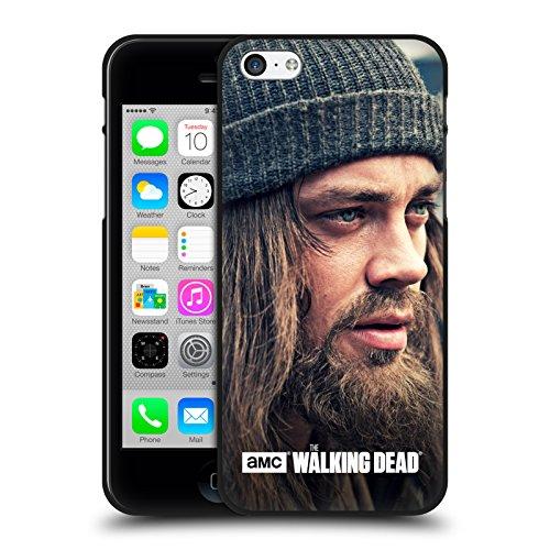 Head Case Designs Oficial AMC The Walking Dead Mirar Fijamente En La Distancia Jesús Funda de Gel Negro Compatible con Apple iPhone 5 / iPhone 5s / iPhone SE 2016