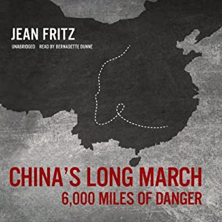 China's Long March audiobook cover art