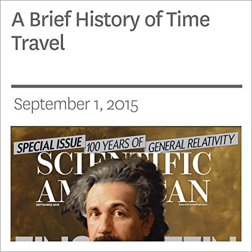 A Brief History of Time Travel  audiobook cover art