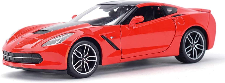 Envío y cambio gratis. ZEQUAN Coches Modelo Fundido a Troquel, Modelo de Coche 1 1 1 18 Aleación Juguete Decoración del Coche Modelo Chevrolet Simulación Decoración del hogar   Regalo ( Color   rojo )  tienda