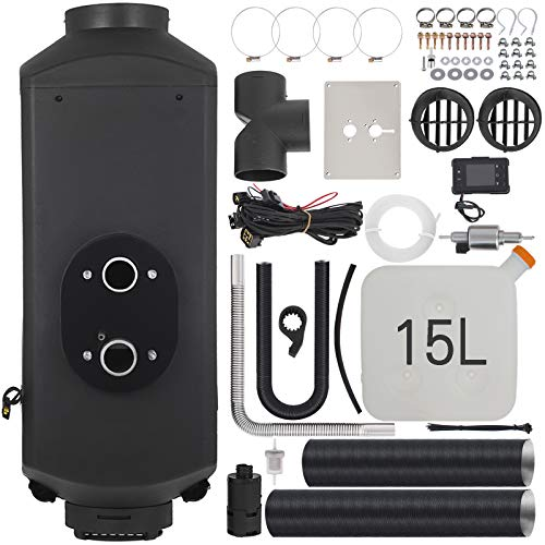VEVOR 5KW Digitale Heizung Diesel thermostat, 12V Standheizung Diesel Heizung, Luft Dieselheizung, Air Diesel Heizung, Air Standheizung Elektrische Gasheizung
