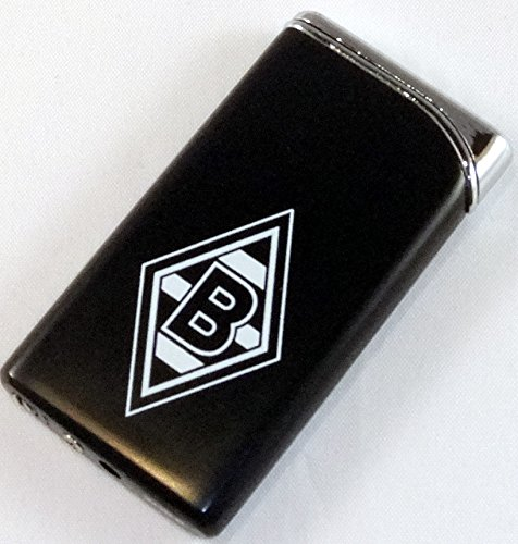 Borussia Mönchengladbach Luxus Feuerzeug Metall schwarz NEU BMG
