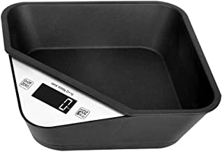 Digital Kitchen Scales, Electronic Smart Scales Portable Boxed Food Cooking Scales with LCD Display and Tare Function Capacity: 5kg / 1g,Black