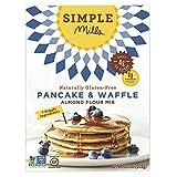 Simple Mills Almond Flour Mix, Panacke & Waffle, 10.7 oz