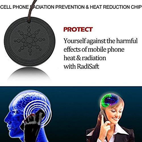 Anti Radiation Shield EMF Protection Negative Ion Balance Energy Necklace Orgone Pendant
