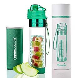 MAMI WATA Fruit Infuser Water Bottle - best toys for 14 year old girls