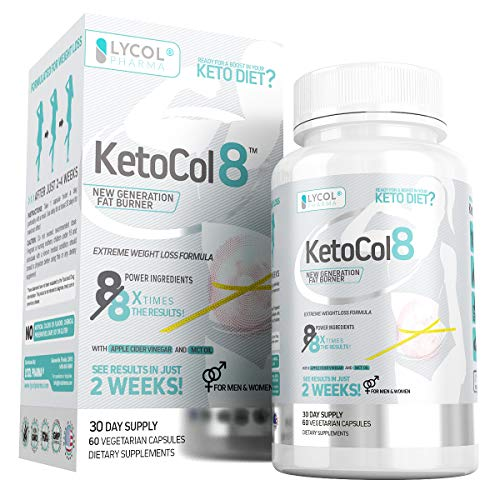 KetoCol8 Keto Diet Pills with Apple Cider Vinegar review