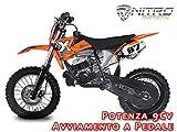 Motorbimbo Nitro Motors Minicross Nrg50 14 pollici Blu