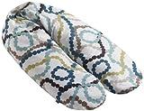 Naf-Naf 31154 - Cuscino d'allattamento/per donne incinte'Beads-C', 145 x 25 cm