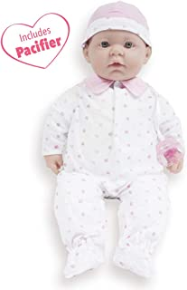 JC Toys, La Baby 20-inch Soft Body Pink Play Doll - For Children 2 Years Or Older, Designed by Berenguer