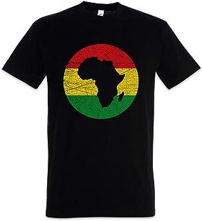 Urban Backwoods Rasta Africa Circle Hombre T-Shirt