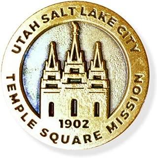 LDS Utah Salt Lake City Temple Square Mission Commemorative Lapel Pin