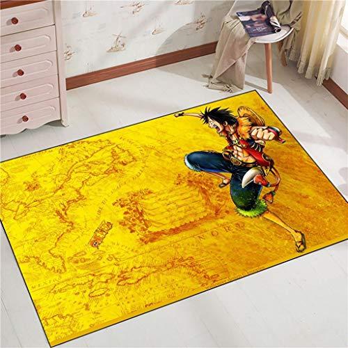 WXYXG Nautical King Design Rutschfester Küchenboden Maschinenreinigbarer Teppichboden mit Gummirückseite Eingangsmatte Teppichmatte - Multi-Size Multi-Pattern-Optionsteppich Spielzeugstatue