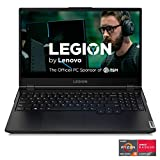 Lenovo Legion 5 Gaming Laptop, 15.6' FHD (1920x1080) IPS Screen, AMD Ryzen 7 4800H Processor, 16GB DDR4, 512GB SSD, NVIDIA GTX 1660Ti, Windows 10, 82B1000AUS, Phantom Black