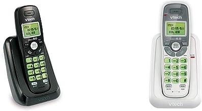 $34 » VTech VA17141BK Dect 6.0 Cordless Phone with Caller Id, Wall-Mountable, Black & CS6114 DECT 6.0 Cordless Phone with Caller...