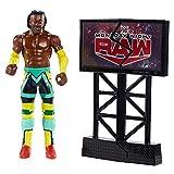 WWE GNK10 - Wrekking Action Figur (15 cm) Kofi Kingston, Spielzeug Actionfigur ab 6 Jahren