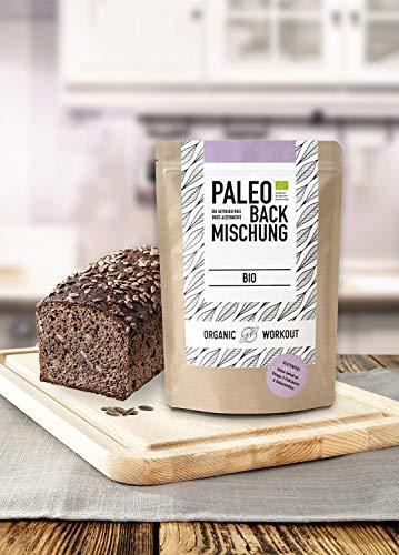 Organic Workout Paleo Brotbackmischung 3er Pack – 100% Bio - 4