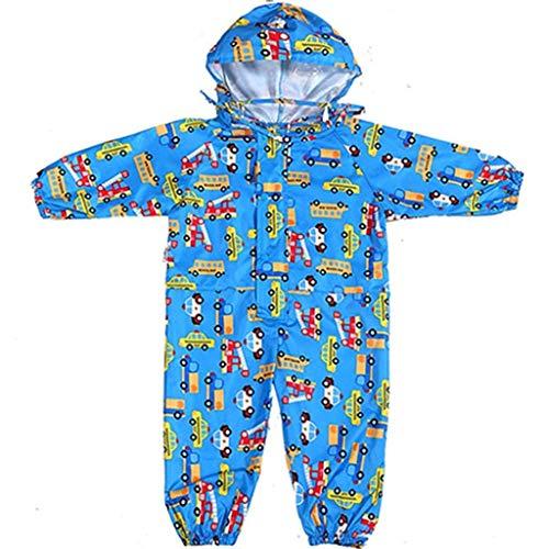WYJW Regenjas Kids Siamese Regenjas Jassen Jongens en Meisjes Grote Hoed Baby Student Poncho XL #1