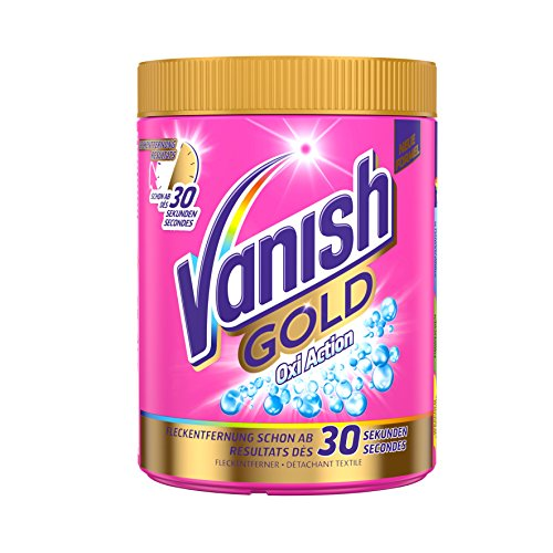 Vanish GOLD Oxi Action Pulver, Universal Fleckenentferner, 1er Pack (1 x 1 kg)