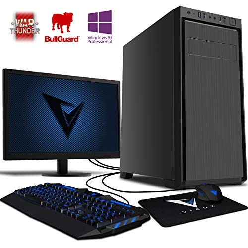 VIBOX Standard 3L Gaming PC Ordenador de sobremesa con Cupón de Juego, Windows 10 Pro OS, 22