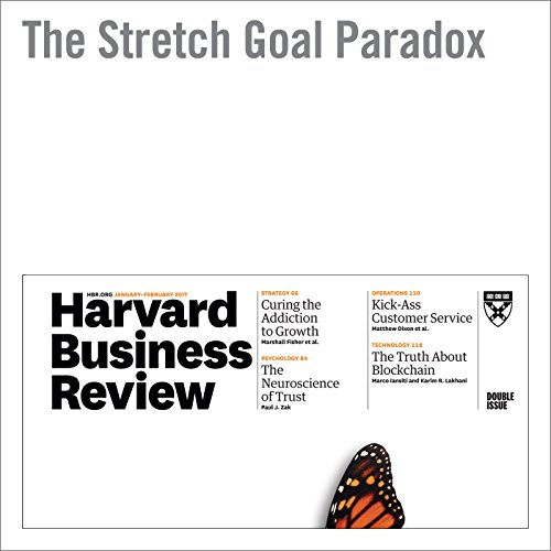 The Stretch Goal Paradox audiobook cover art