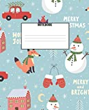 Notebook: Remember the reason for the season with this cute Christmas Journal!