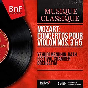 Mozart: Concertos pour violon Nos. 3 & 5 (Stereo Version)