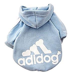 duyi Adidog Sweat-shirt chaud hommes Hissez petits animaux chiot Manteau