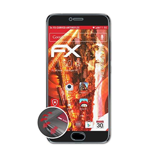 atFolix Schutzfolie kompatibel mit UMiDigi Z Pro Folie, entspiegelnde & Flexible FX Bildschirmschutzfolie (3X)