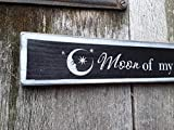 Moon of my life, My sun and stars Game of Thrones Quote painted wood sign Khaleesi Khal Drogo