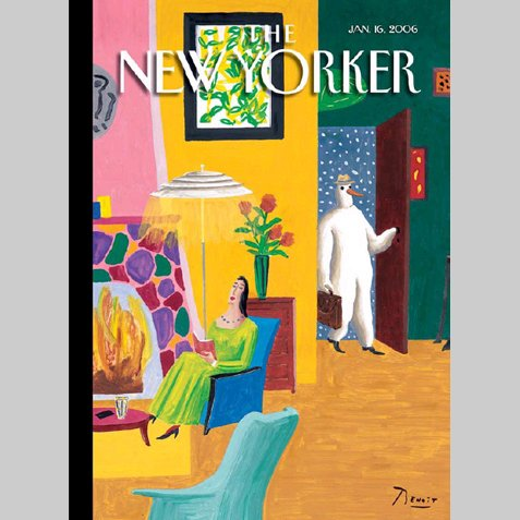 The New Yorker (Jan. 16, 2006) cover art