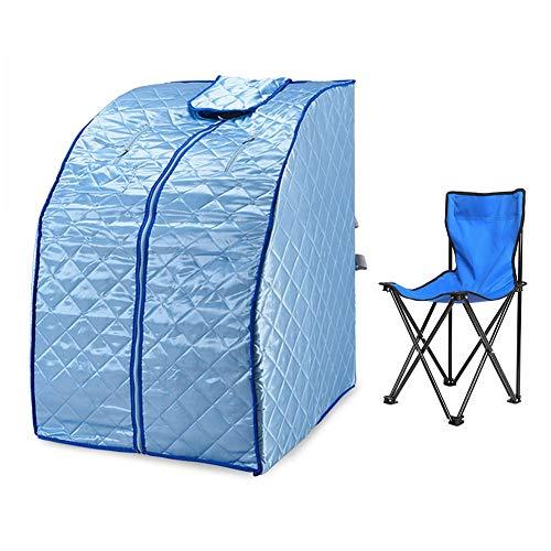Fernes Infrarot Sauna Mit Stuhl Tragbar Heizung Sauna Box Innen Falten Sauna Dampfkabine Persönlich Spa Abnehmen Und Toxin Entfernen