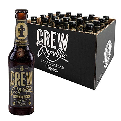 CREW Republic Craft Beer Rest In Peace, Barley Wine (20 x 0,33 l)