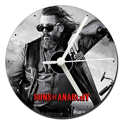 Sons of Anarchy Bobby Elvis Mark Boone Junior Tischuhren CD Clock 12cm