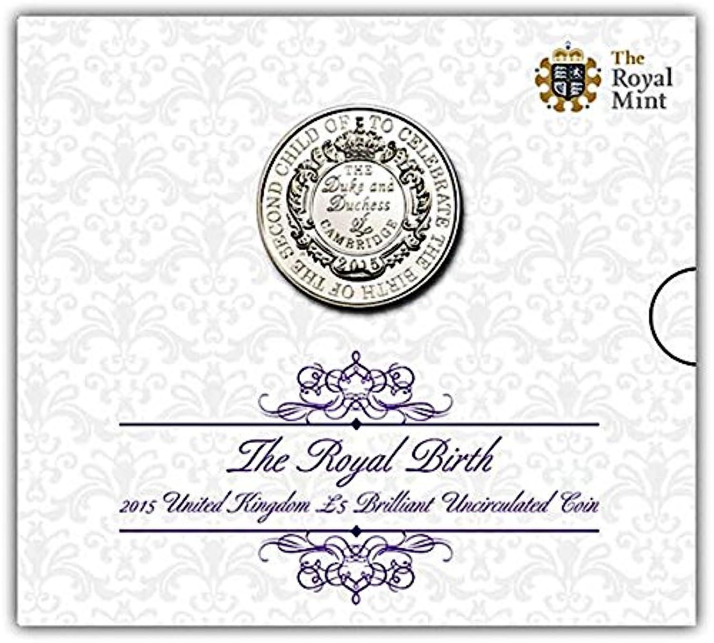 The Royal Birth 2015 United Kingdom £5 Brilliant Uncirculated Coin