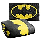 Batman Classic Logo Silky Touch Super Soft Throw Blanket 36' x 58',Classic Logo