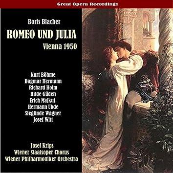 Blacher: Romeo und Julia  [1950]