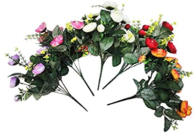 Premsons® Artificial Flower for Indoor and Outdoor Decoration of Your Office and Home (Multicolour)
