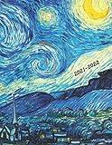 2021-2022: Week-View UK Academic Planner 2021-2022 / School Diary / 17x22cm / Van Gogh Starry Night