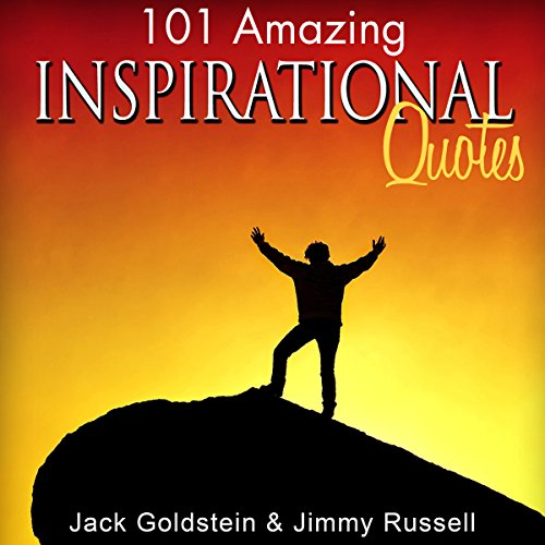 101 Amazing Inspirational Quotes audiobook cover art