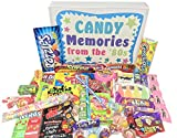 Woodstock Candy ~ 80s Retro Candy Gift Box with 1980's Candy Assortment for Man or Woman - Fun Care Package Birthday Gag Gift