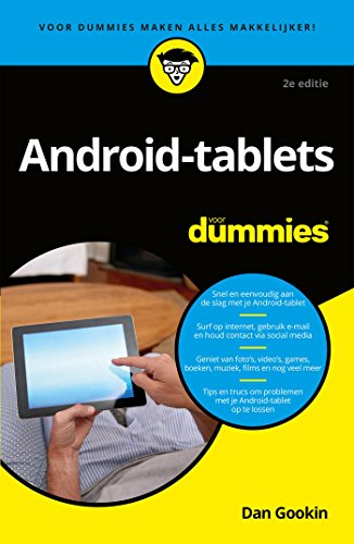 Android-tablets voor Dummies (Dutch Edition)